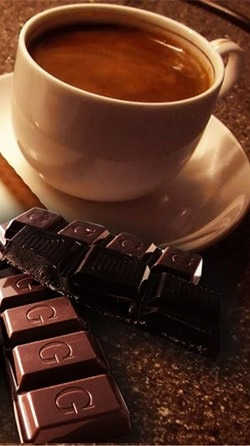 Chocolate And Coffee Android Wallpaper Image 3