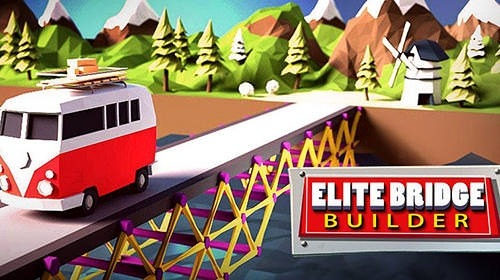 Elite Bridge Builder: Mobile Fun Construction Game Android Game Image 1