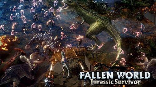 Fallen World: Jurassic Survivor Android Game Image 1