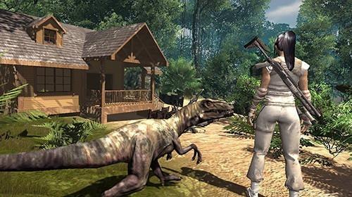 Fallen World: Jurassic Survivor Android Game Image 2