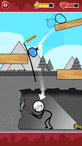 Funny Ball: Popular Draw Line Puzzle Game Android Game Image 3