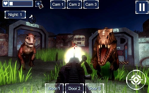 Nights At Jurassic Island Survival Android Game Image 3