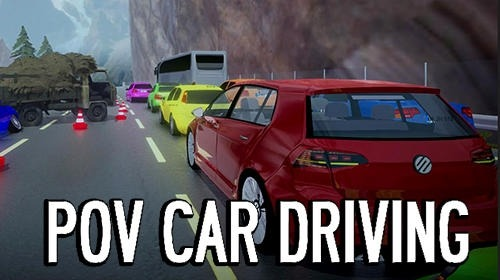 Pov Car Driving Android Game Image 1