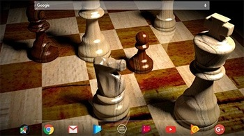 Chess 3D Android Wallpaper Image 1