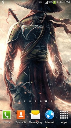 Warrior Android Wallpaper Image 1