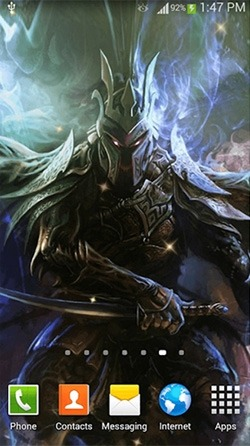 Warrior Android Wallpaper Image 2