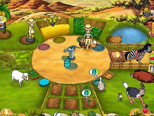 Farm Mania 3: Hot Vacation Android Game Image 2