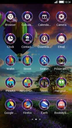 Air Balloons CLauncher Android Theme Image 2