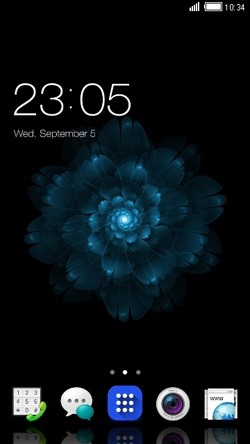 Dark CLauncher Android Theme Image 1