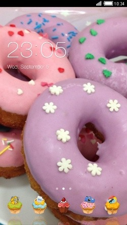 Donuts CLauncher Android Theme Image 1
