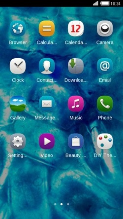 Ice CLauncher Android Theme Image 2