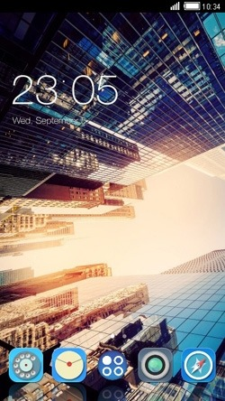 Cool City View CLauncher Android Theme Image 1