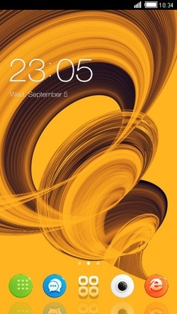 Cyclone CLauncher Android Theme Image 1
