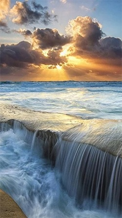 Seascape Android Wallpaper Image 1