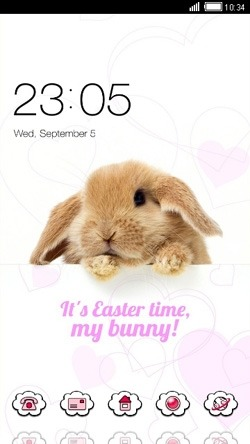 Bunny CLauncher Android Theme Image 1