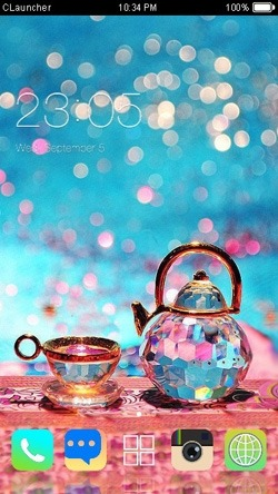 Tea CLauncher Android Theme Image 1