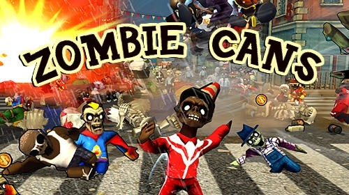 Zombie Cans Android Game Image 1