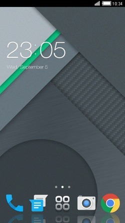 Material CLauncher Android Theme Image 1