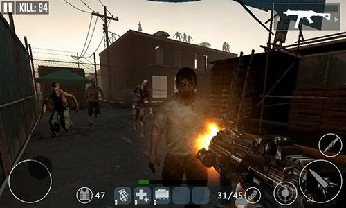 Dead Zombie Frontier War Survival 3D Android Game Image 2