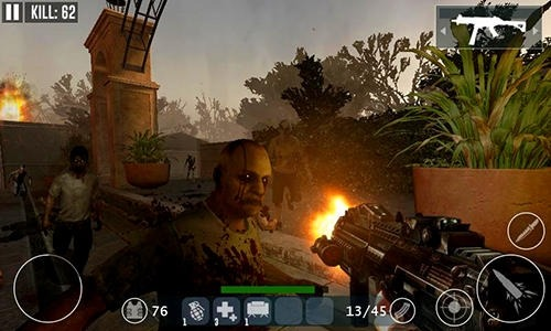 Dead Zombie Frontier War Survival 3D Android Game Image 3