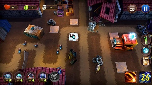 Ghost Town Defense Android Game Image 2