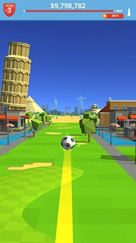 Soccer Kick Android Game Image 2