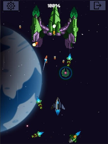 Galaxy War: Space Shooter Android Game Image 2