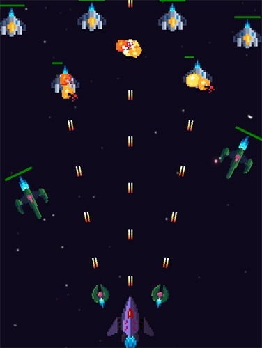 Galaxy War: Space Shooter Android Game Image 3