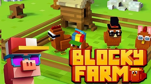 Blocky Farm Android Game Image 1
