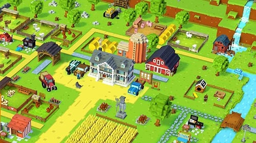 Blocky Farm Android Game Image 2