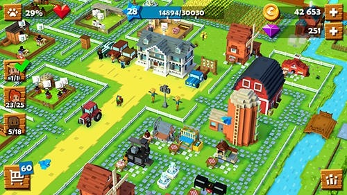 Blocky Farm Android Game Image 3