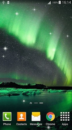 Northern Lights Android Wallpaper Image 3