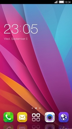 Colorful Patel CLauncher Android Theme Image 1