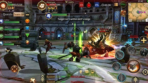 Era Of Legends: Fantasy MMORPG In Your Mobile Android Game Image 3