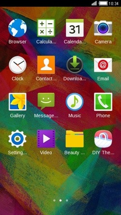 Colors CLauncher Android Theme Image 2