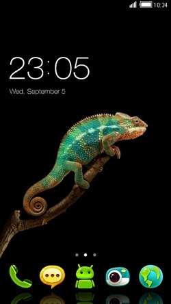 Chameleon CLauncher Android Theme Image 1