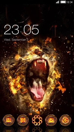 Roar CLauncher Android Theme Image 1