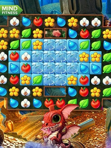 Frozen Flowers Android Game Image 3
