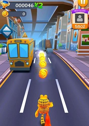 Garfield Rush Android Game Image 2