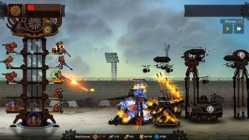 Steampunk Tower 2 Android Game Image 2