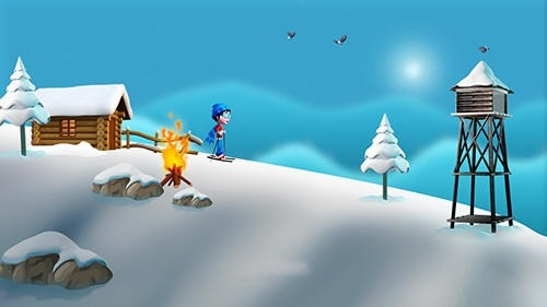 Super Ski: Adventure Hill Android Game Image 3