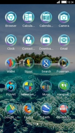 Island CLauncher Android Theme Image 2