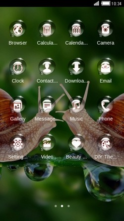 Snails CLauncher Android Theme Image 2