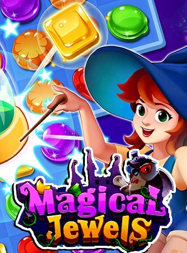 Gems Witch: Magical Jewels Android Game Image 1