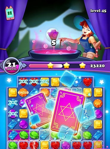 Gems Witch: Magical Jewels Android Game Image 2