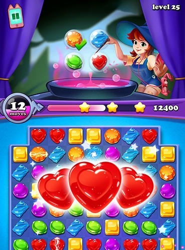 Gems Witch: Magical Jewels Android Game Image 3