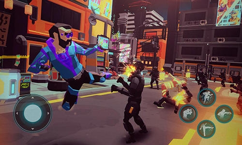 Cyber rage: Retribution Android Game Image 3