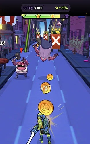 Rise Of The TMNT: Ninja Run Android Game Image 2