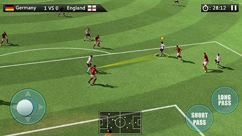 World Football: Golden League Cup Android Game Image 2