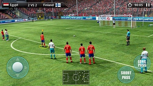 World Football: Golden League Cup Android Game Image 3